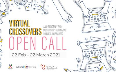 Virtual Crossovers: New open call for art journalists!